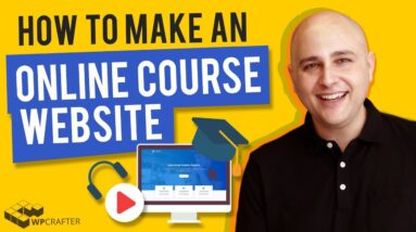 How To Make An Online Course Website With WordPress Using LearnDash 3 (Step By Step 2021)