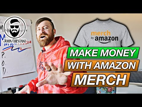 Make Money With Merch By Amazon (Get Paid To Design T-Shirts)