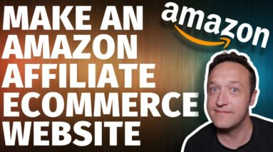 How to MAKE AN AMAZON AFFILIATE ECOMMERCE STORE Website with WordPress Woozone & Woocommerce