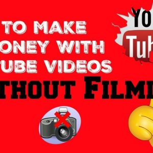 How To Make Money With Youtube Videos Without Filming - with PROOF